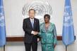 Secretary-General Meets New Representative of Central African Republic 1.0