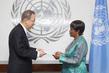 New Representative of Central African Republic Presents Credentials 1.0