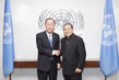 Secretary-General Meets New Permanent Observer of Holy See 1.0