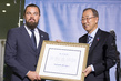 Secretary-General Designates Leonardo Dicaprio as UN Messenger of Peace 1.0