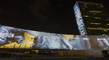 Massive Architectural Projections on UN Headquarters 11.711164