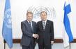 Secretary-General Meets President of Finland 2.8642714