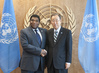 Secretary-General Meets Head of Inter-Parliamentary Union