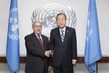 Secretary-General Meets Foreign Minister of Algeria 1.0