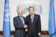 Secretary-General Meets Head of Arab League 1.0