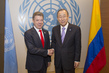 Secretary-General Meets President of Colombia