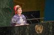 Head of Sami Parliament of Norway Addresses World Conference on Indigenous Peoples