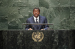 President of Togo Addresses Assembly Session on Population and Development 3.2217526
