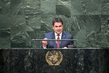 President of Honduras Addresses Assembly Session on Population and Development 3.2217526