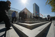 View of UN Headquarters on Day of Climate Summit 1.0
