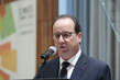 French President Addresses UN Climate Summit 2014