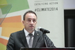 Captain Regent of San Marino Addresses UN Climate Summit 2014 7.476033