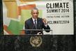 United States President Addresses UN Climate Summit 2014 1.0