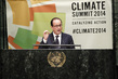 President of France Addresses UN Climate Summit 2014 1.0