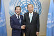 Secretary-General Meets Mayor of Seoul