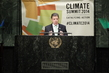 President of Colombia Addresses UN Climate Summit 2014