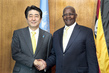Assembly President Meets Prime Minister of Japan