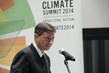 President of Slovenia Addresses UN Climate Summit 2014 1.1922066