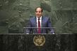 President of Egypt Addresses General Assembly 1.0