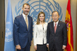 Secretary-General Meets King and Queen of Spain 1.0