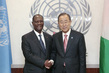 Secretary-General Meets President of Côte d'Ivoire 2.9163222