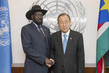 Secretary-General Meets President of South Sudan 2.8650331