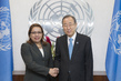 Secretary-General Meets Foreign Minister of Guyana 2.8650331