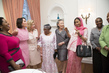 Wife of Secretary-General Hosts Tea for Spouses of Heads of Delegations 4.4449725