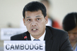 Human Rights Council Interactive Dialogue With Special Rapporteur on Cambodia 5.0000777