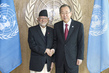 Secretary-General Meets Prime Minister of Nepal 2.8650637
