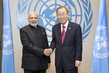 Secretary-General Meets Prime Minister of India 2.8649592