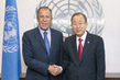 Secretary-General Meets Russian Foreign Minister 2.8649592