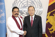 Secretary-General Meets President of Sri Lanka 2.8649592