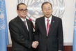 Secretary-General Meets DPRK Foreign Minister 2.8649592