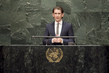 Foreign Minister of Austria Addresses General Assembly 3.2094896