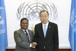 Secretary-General Meets Former President and Special Envoy of Maldives 2.8650637