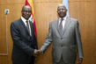 Assembly President Meets Foreign Minister of Sierra Leone