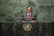Former President, Special Envoy of Maldives Addresses General Assembly