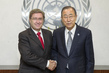 Secretary-General Meets Co-Chair of Data Revolution Advisory Group