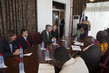 Head of UNMEER Meets President of Liberia 4.772222