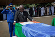Remains of Nigerien Peacekeepers Arrive in Niamey, Niger 3.420682