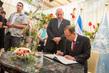 Secretary-General Meets President of Israel 1.0