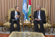 Secretary-General Meets Palestinian Deputy Prime Minister 3.7665074