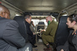 Secretary-General En Route to Ein Hashlosha Tunnel in Israel 2.2897167