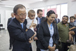 Secretary-General Meets IDPs at UNRWA Collective Centre in Gaza 7.366705