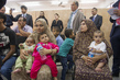 Secretary-General Meets IDPs at UNRWA Collective Centre in Gaza 0.52253425