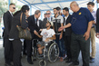 Secretary-General Meets IDPs at UNRWA Collective Centre in Gaza 5.77886