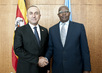 General Assembly President Meets Foreign Minister of Turkey 3.2172215