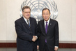 Secretary-General Meets Chair of Advisory Board on Disarmament 2.865646
