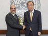 Secretary-General Meets Permanent Representative of Pakistan 2.8646395